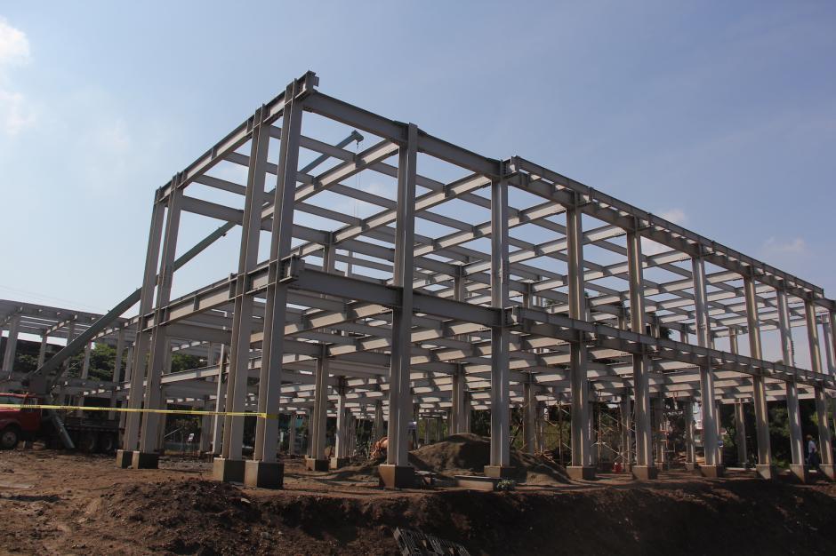 La infraestructura lleva un avance de 50 por ciento en su construcción. (Fredy Hernández/Soy502)