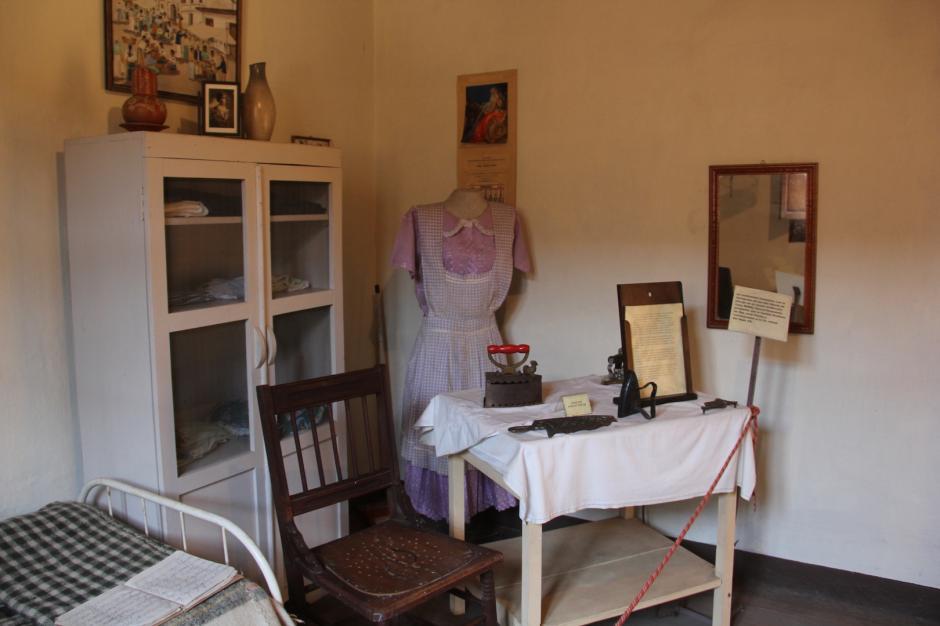 La casa también cuenta una habitación en la que dormía la empleada doméstica. (Foto: Fredy Hernández/Soy502)