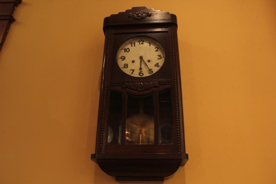 Al parecer el tiempo no ha pasado por las paredes de Casa M.I.M.A. (Foto: Fredy Hernández/Soy502)