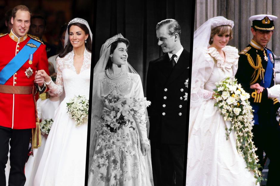 Antes de Harry y Meghan, estas fueron las bodas reales del Reino ...