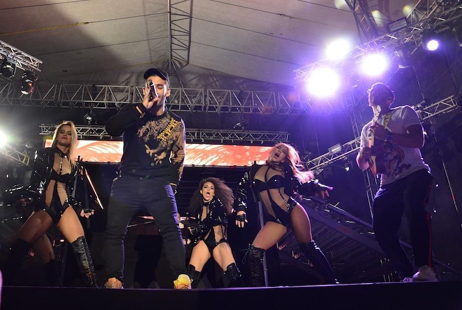 Manuel Turizo abrió el show con su romance. (Foto: Selene Mejía/Soy502)