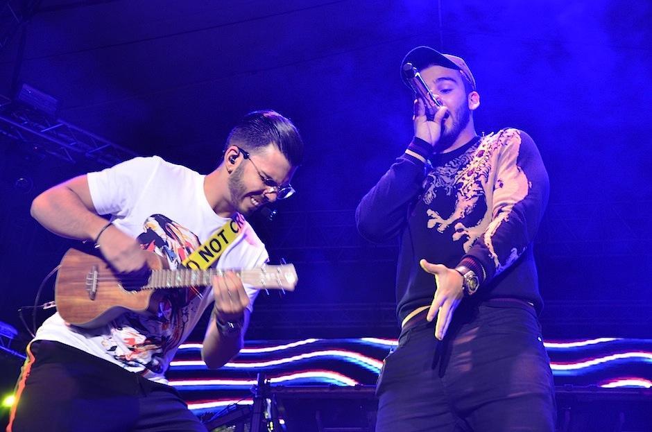 Manuel fue acompañado por su hermano Julián Turizo. (Foto: Selene Mejía/Soy502)