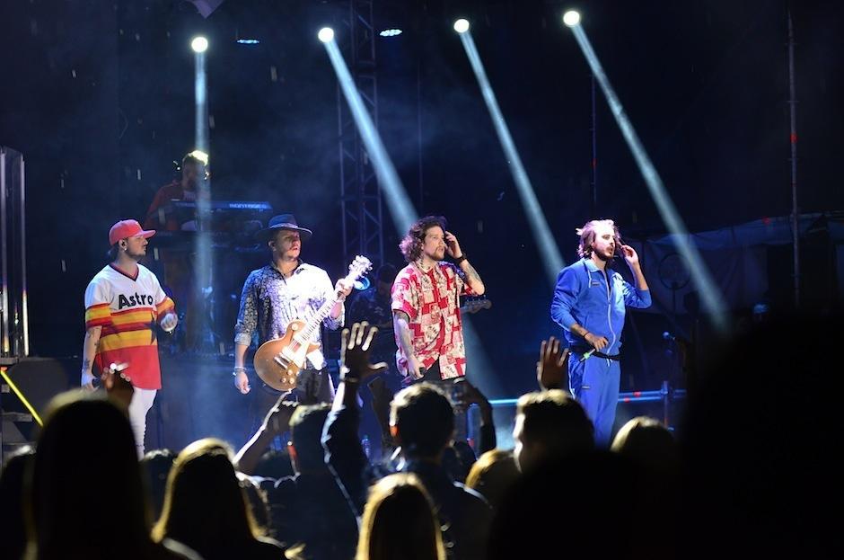 Piso 21 visitó Guatemala para dar un concierto luego de la grabación de su video en el país. (Foto: Selene Mejía/Soy502)