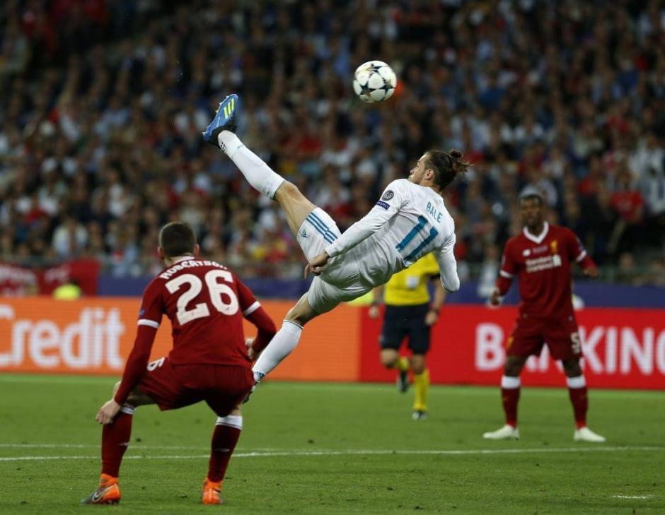 Chilena y golazo de Gareth Bale en la final de la Champions League. (Foto: Captura de video)