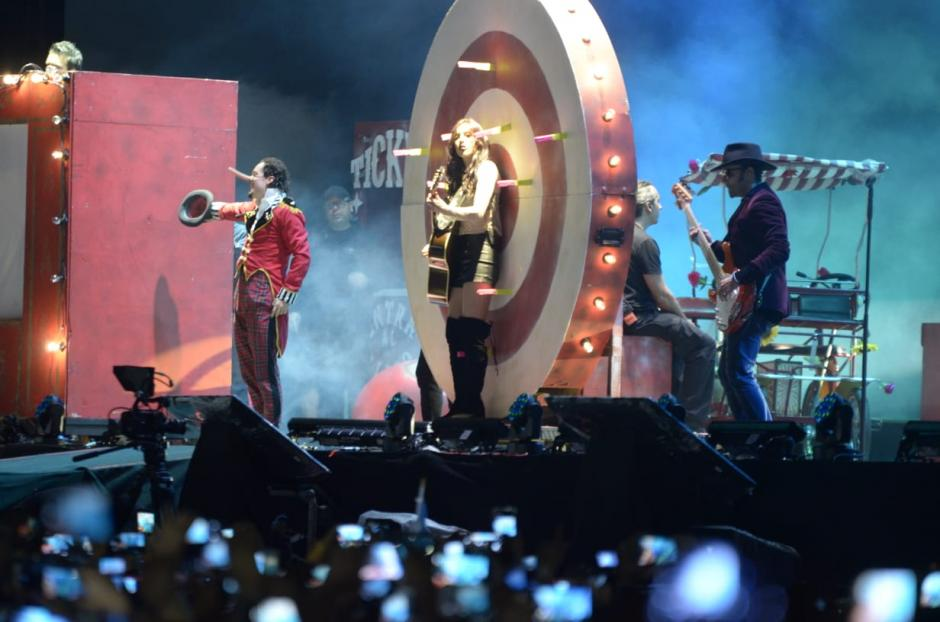 Panchorizo acompañó al cantante durante este año y medio. (Foto: Wilder López/Soy502)