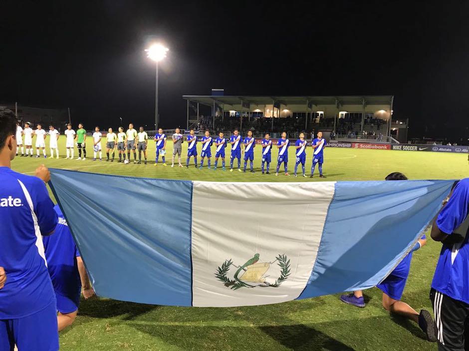 Este fue el once inicial de la Selección Nacional de Guatemala en el partido ante El Salvador. (Foto: ACD)