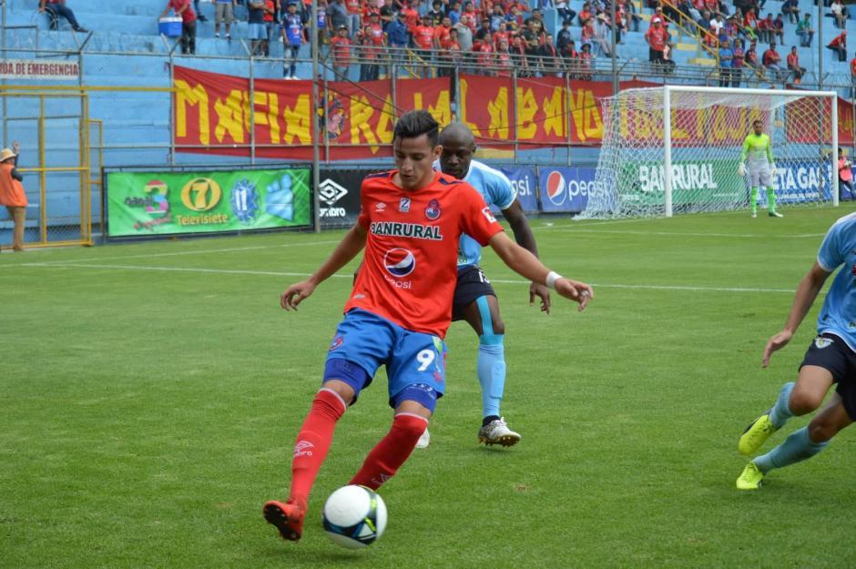 José Carlos Martínez ha sido la pieza clave para Municipal en los últimos juegos. (Foto: Rudy Martínez/Soy502)