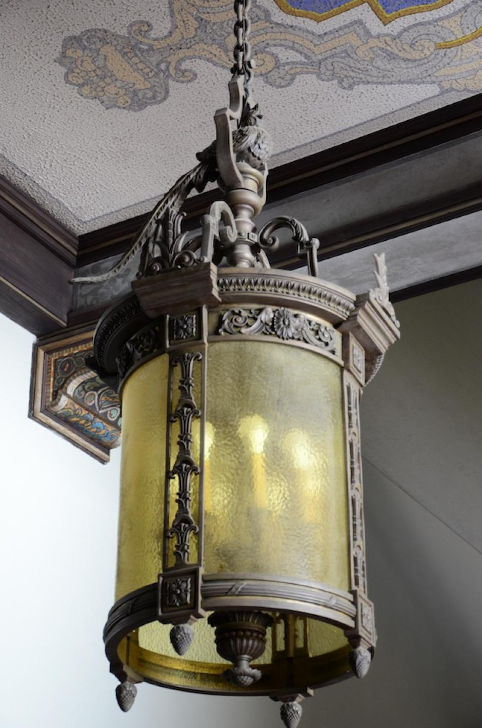 El quetzal es símbolo de libertad y está en cada detalle dentro del Palacio.  (Foto: Selene Mejía/Soy502)