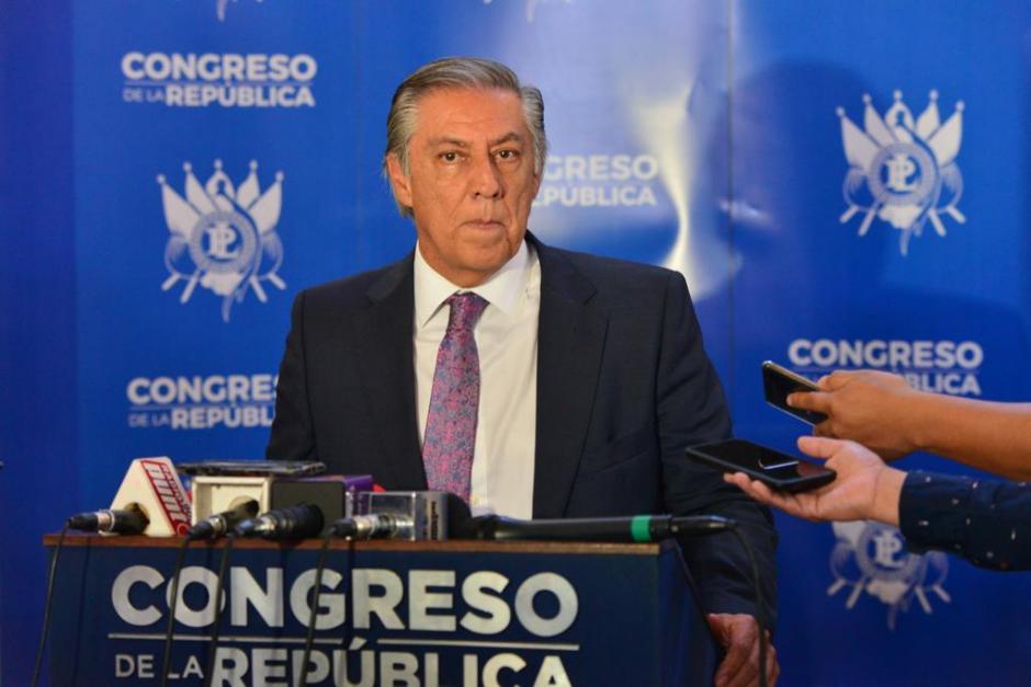 Luis Fernando Montenegro también intentó ser presidente del Congreso en enero de este año. (Foto: Jesús Alfonso/Soy502)