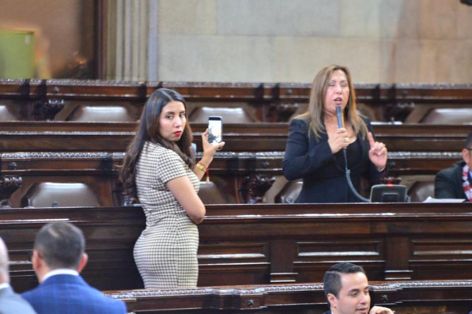 La diputada Sofía Hernández solicitó más recursos para el sistema de salud. (Foto: Jesús Alfonso/Soy502)