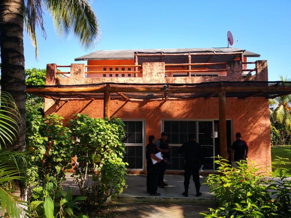 Así se observa la casa de Gallardo. (Foto: MP)