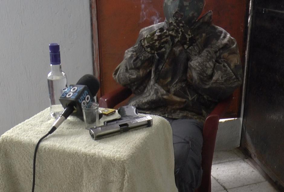 'El Charly' es un pandillero de la Mara 18 que habló sobre las extorsiones. (Foto: Jessica Gramajo/Soy502)