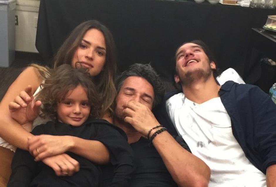 Ricardo Arjona disfruta con su familia unas merecidas vacaciones. (Foto: Instagram)