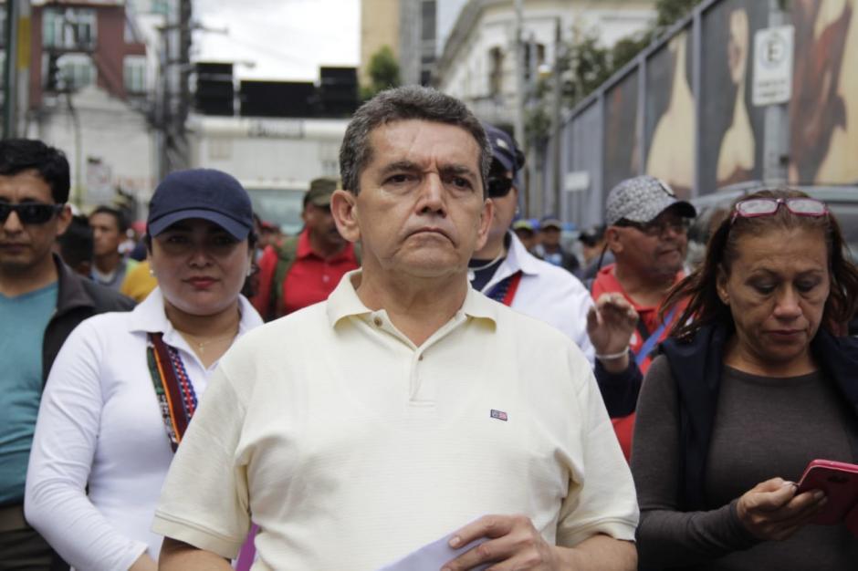 """Acevedo advirtió que """"está en riesgo"""" el inicio del ciclo escolar 2019. (Foto: Wilder López/Soy502)"""
