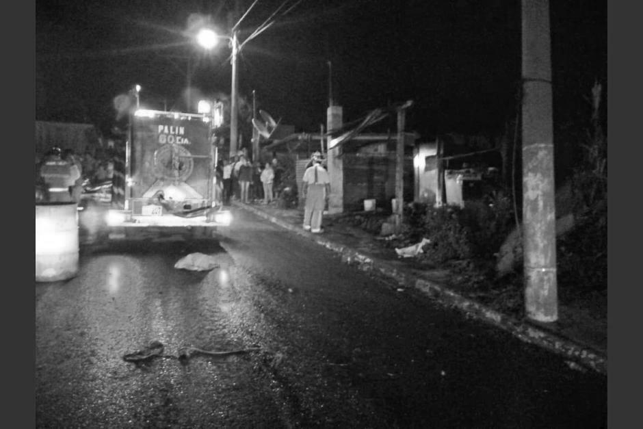 Una mujer de 22 años perdió la vida en un incendio en Escuintla. (Foto: Bomberos Voluntarios)