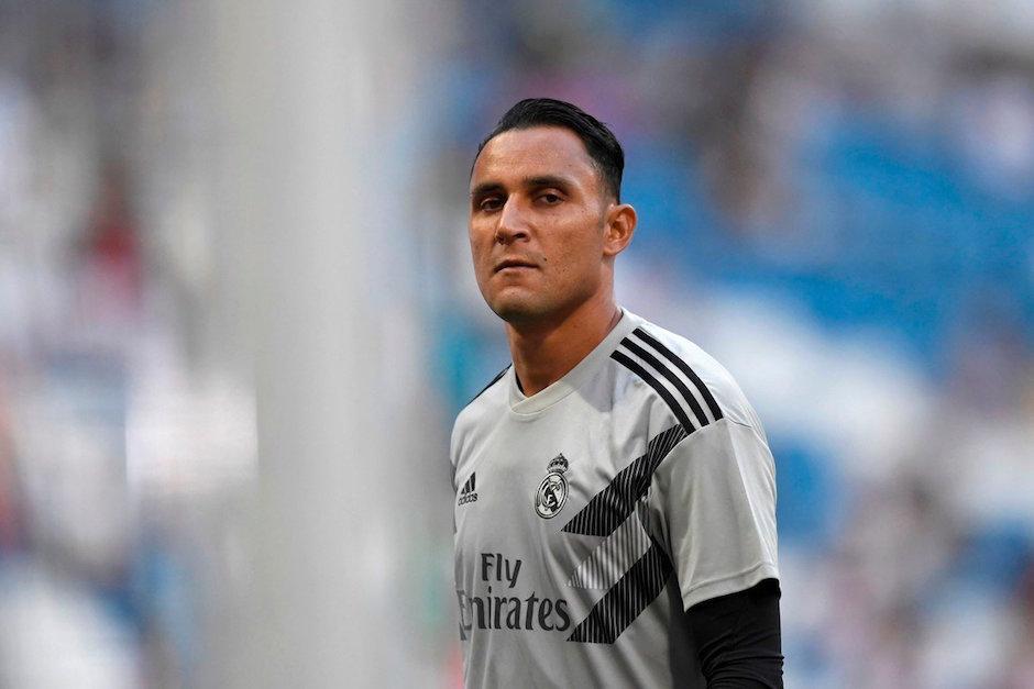 Keylor Navas no es del gusto del técnico Santiago Solari. (Foto: AFP)