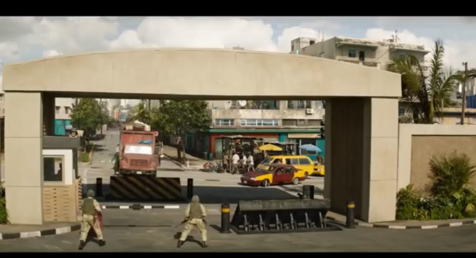En TV Azteca transmiten escena de 'Capitán América' como noticia real