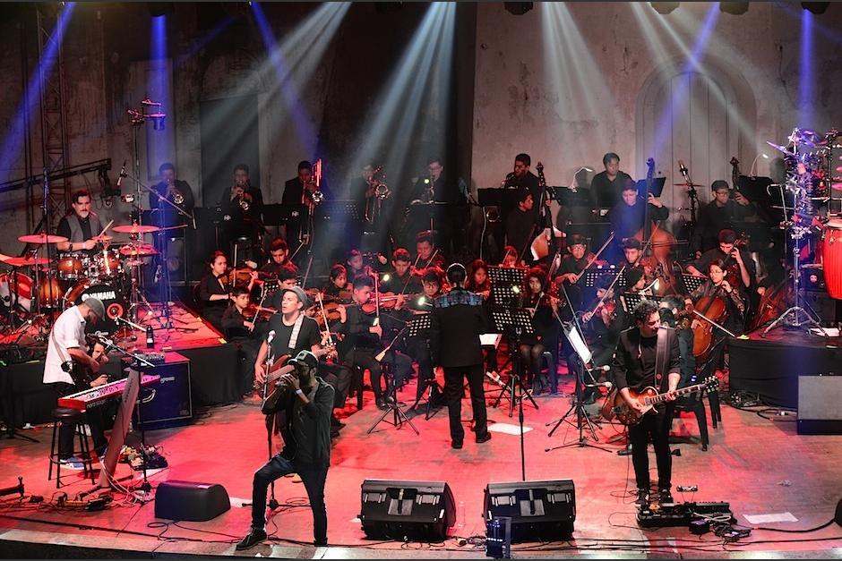 Bohemia Suburbana y el Sistema de Orquestas de Guatemala celebró su Sub Sinfónico.  (Foto: Selene Mejía/Soy502)