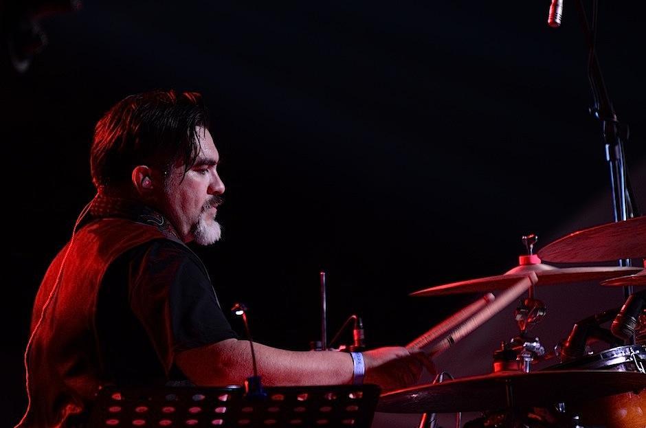 La batería de Pepe Mollinedo no podía faltar. (Foto: Selene Mejía/Soy502)
