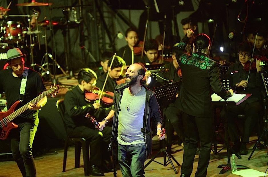 El evento se llevó a cabo en el Teatro al Aire Libre del Centro Cultural Miguel Ángel Asturias. (Foto: Selene Mejía/Soy502)