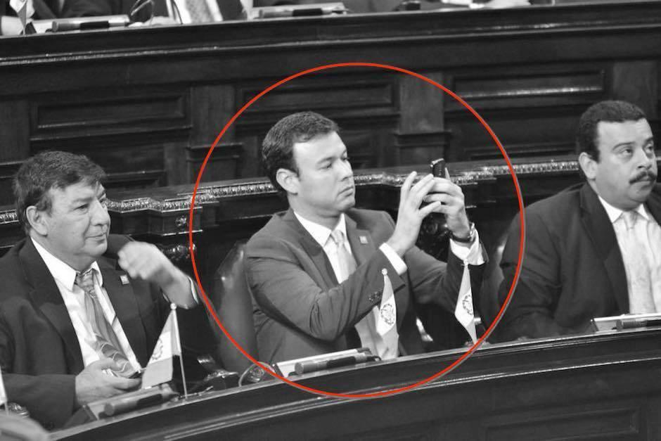 Gustavo Echeverría integró la séptima Legislatura en el Congreso de la República. (Foto: Jesús Alfonso/Soy502)