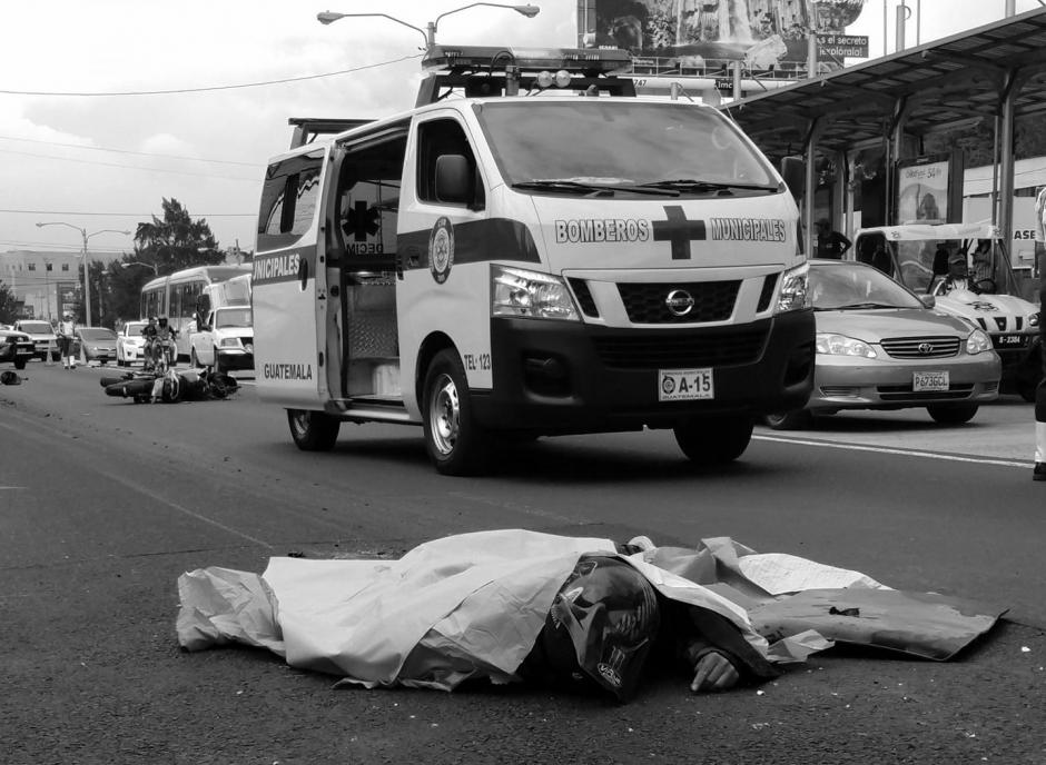 El hombre fue identificado por paramédicos. (Foto: captura pantalla)