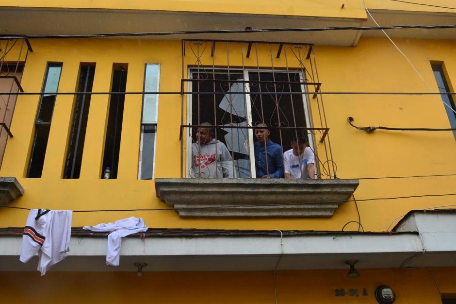 Los menores efectuaron destrozos en el lugar. (Foto: Jesús Alfonso/Soy502)