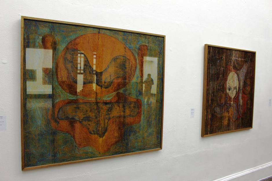 La muestra artistica de Ileana Ivandic es exhibida en Galería del Centro de Fundación G&T Continental. (Foto: cortesía Doblevía)