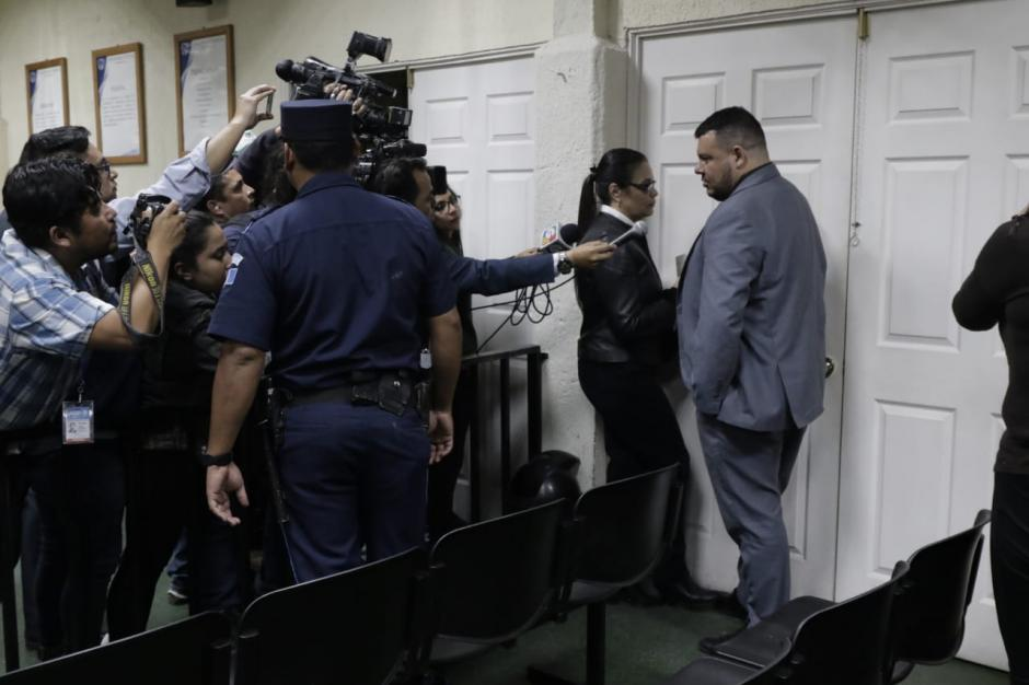 El abogado defensor de Baldetti dijo que analizarán presentar el recurso de apelación. (Foto: Alejandro Balán/Soy502)