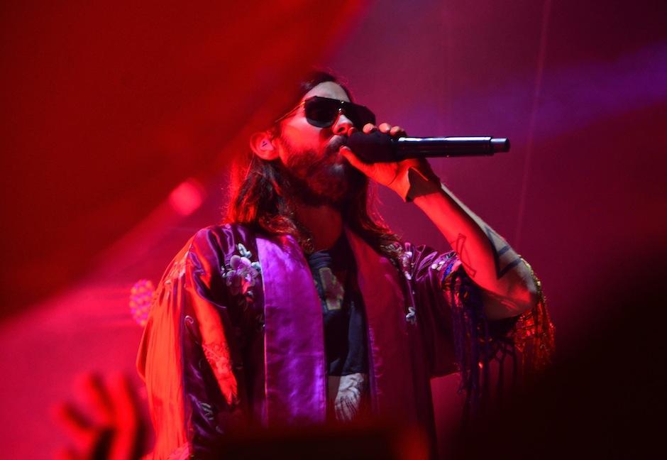 Los fanáticos corearon las canciones de la banda estadounidense.  (Foto: Selene Mejía/Soy502)