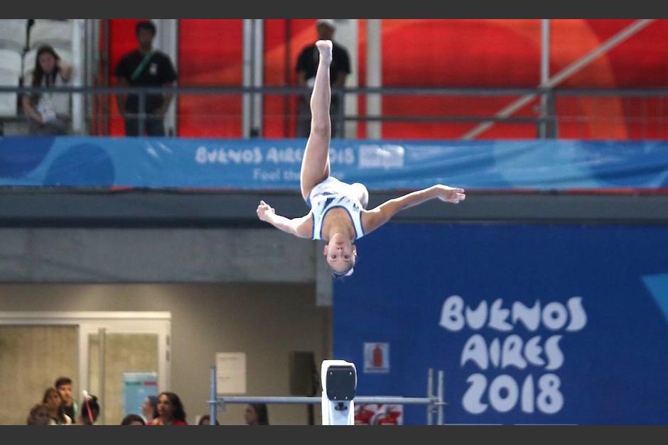 Karla Pérez se despidió de los Juegos Olímpicos de la Juventud