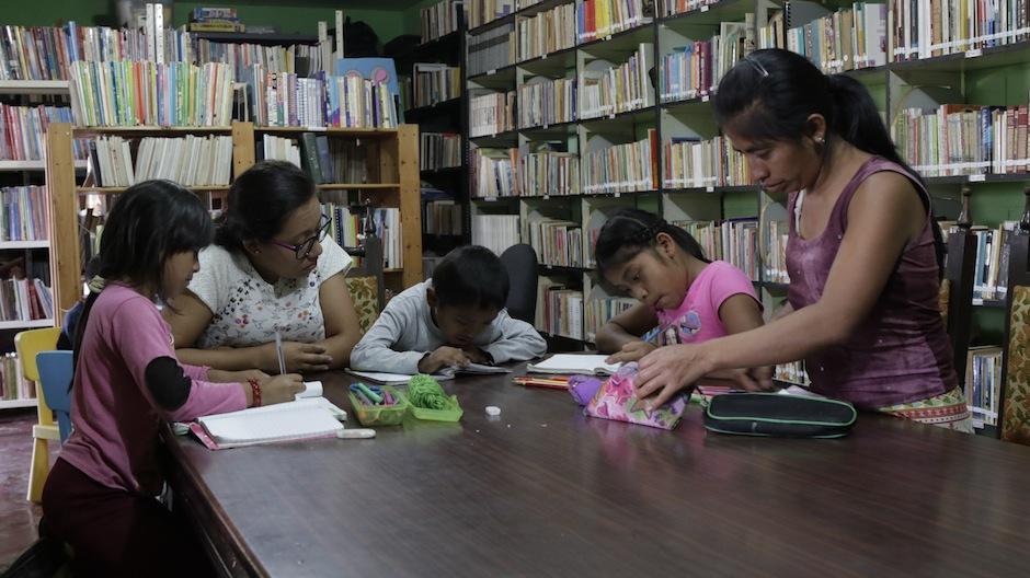 El Proyecto Luis de Lión inició en los años 60 con una biblioteca. (Foto: Alejandro Balán/Soy502)