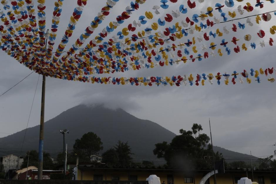 Hunahpú es el nombre original del Volcán de Agua. (Foto: Alejandro Balán/Soy502)