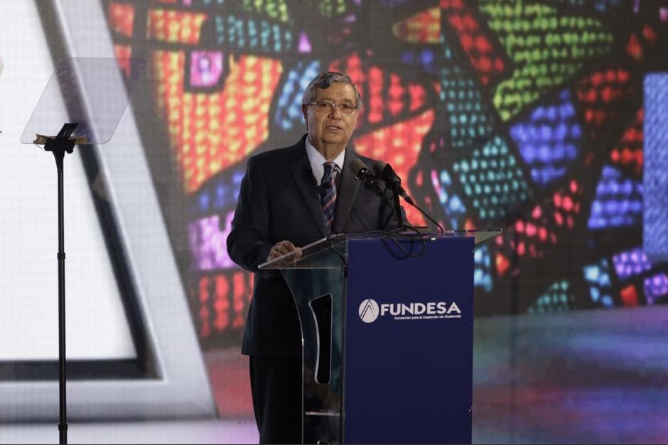 El exvicepresidente asistió a la inauguración de Enade, 2018.  (Foto: Alejandro Balán/Soy502)