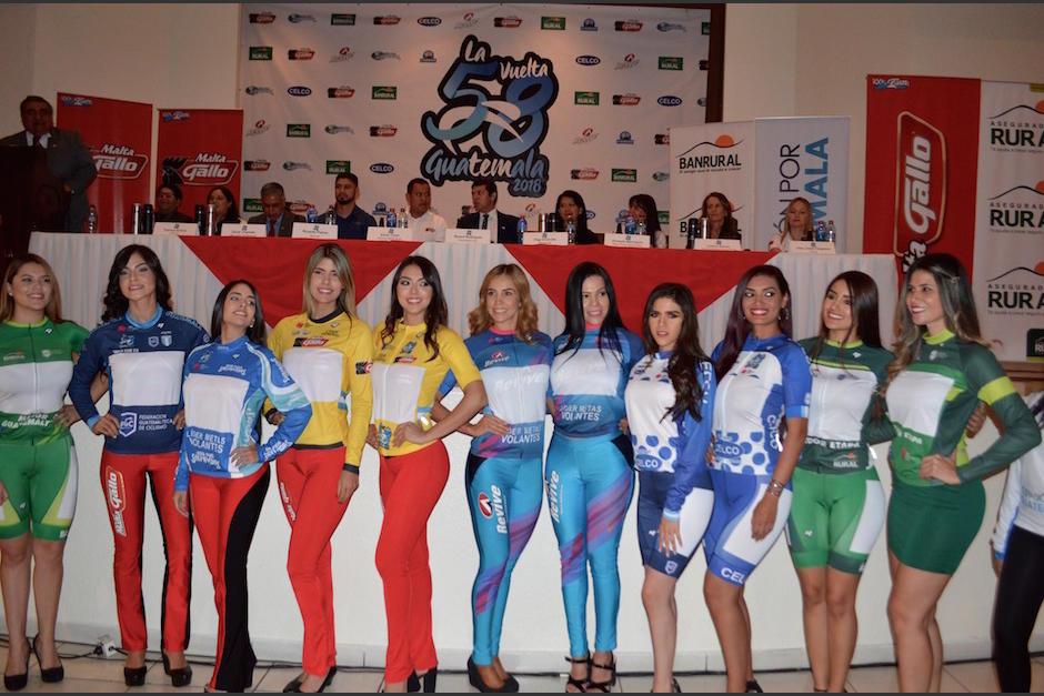 Estos serán los mailots que utilizarán los mejores ciclistas de la Vuelta. (Foto: Rudy Martínez/Soy502)