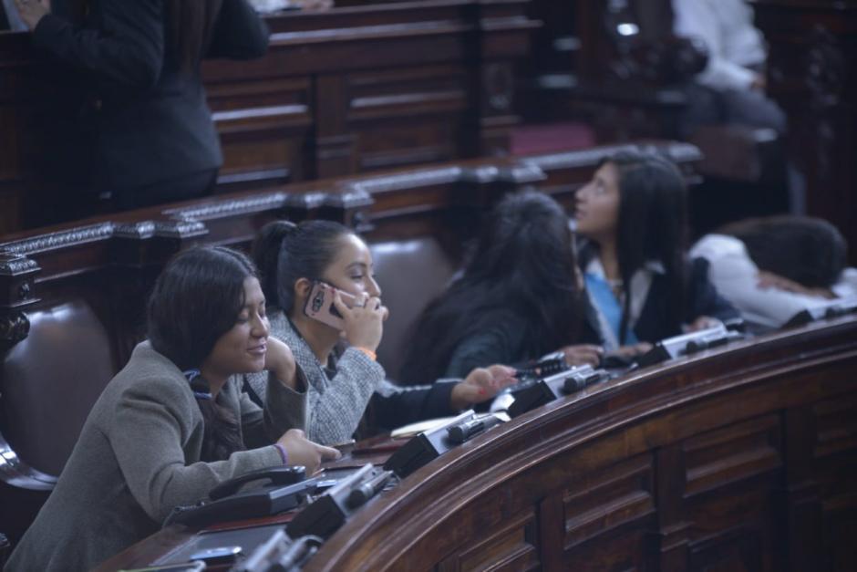 El Parlamento Juvenil está integrado por 158 niños y adolescentes. (Foto: Wilder López/Soy502)