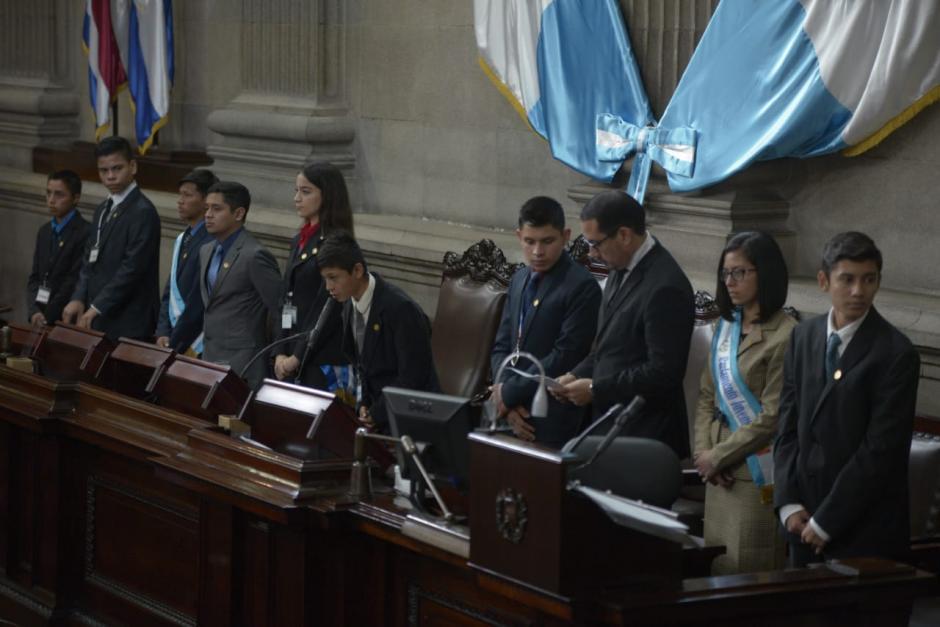 Los niños diputados eligieron a su Junta Directiva. (Foto: Wilder López/Soy502)