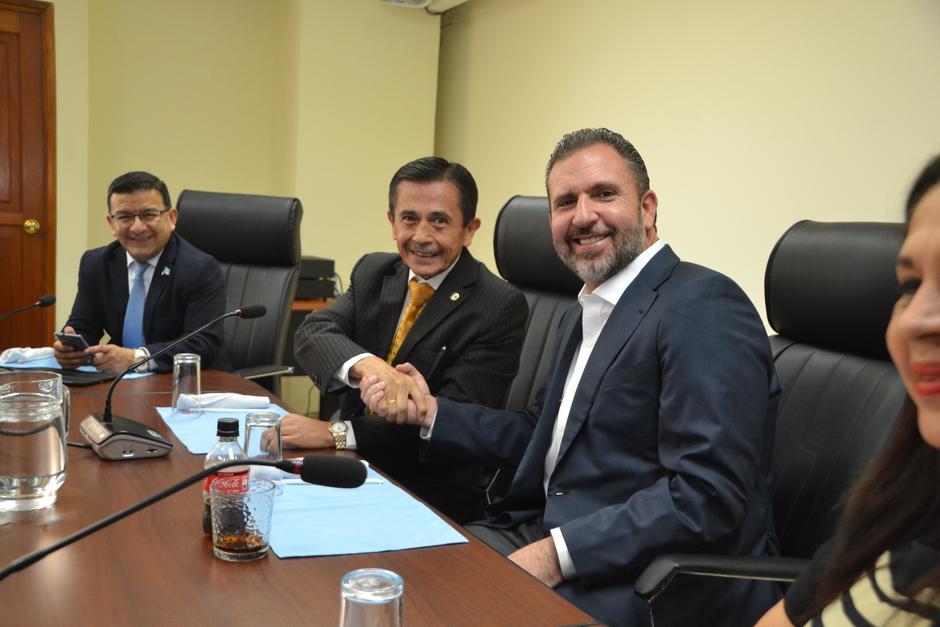 Roberto Arzú ha tenido acercamientos con diputados del Movimiento Reformador. (Foto: cortesía José Castro)