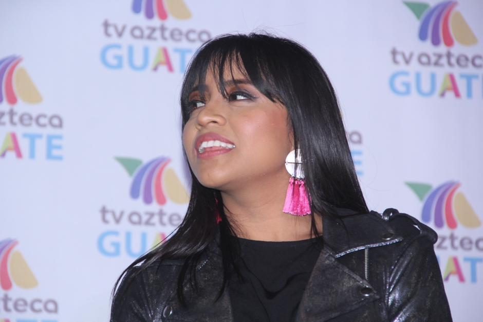 La cantante no defraudó y mostró lo que aprendió en La Academia. (Foto: Fredy Hernández/Soy502)