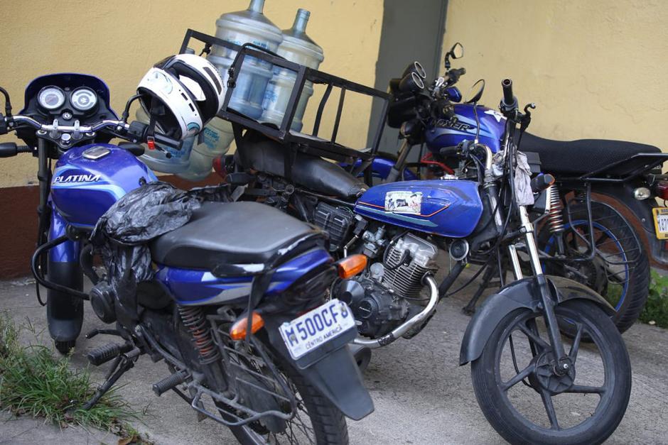 Las motos con reporte de robo eran usadas con diferentes fines. (Foto: PNC)