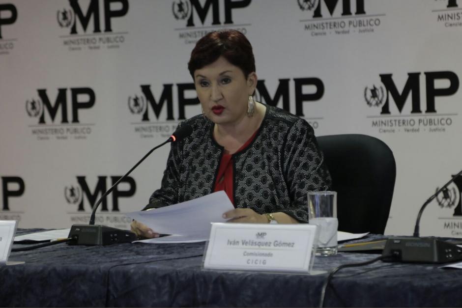 El equipo que laboró con Thelma Aldana salió en defensa de los nombramientos de fiscales regionales. (Foto: archivo/Soy502)