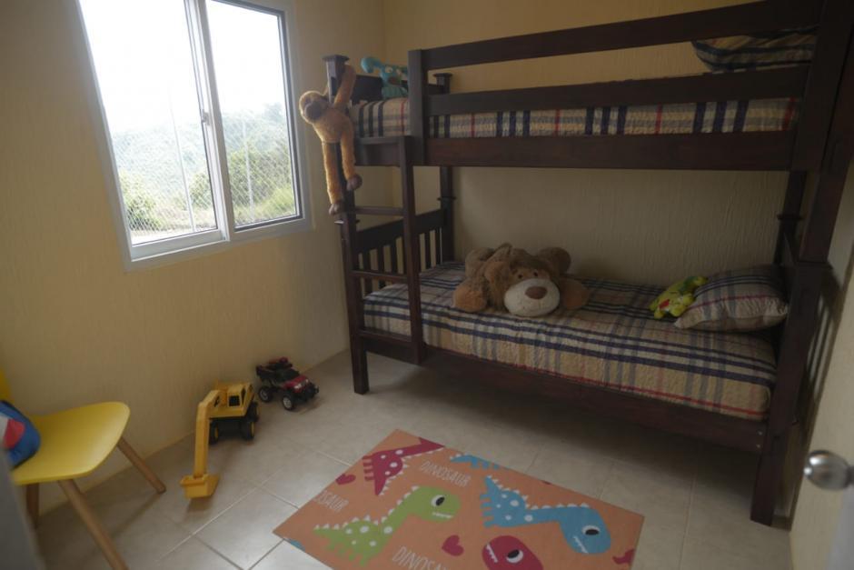 Esta es la propuesta para el uso que se le podría dar a una de las habitaciones. (Foto: Wilder López/Soy502)