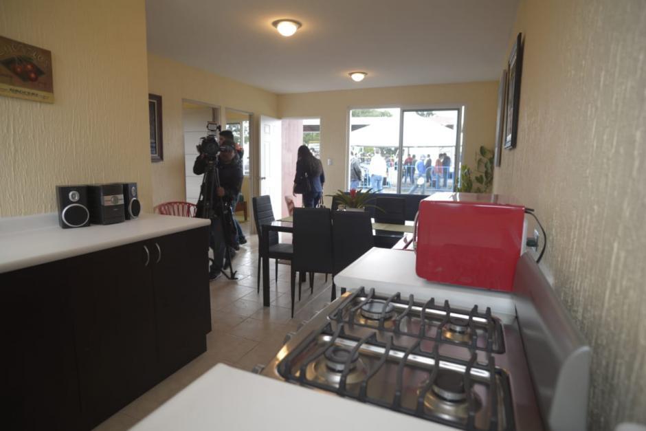 La cocina está en un área alterna al comedor. (Foto: Wilder López/Soy502)