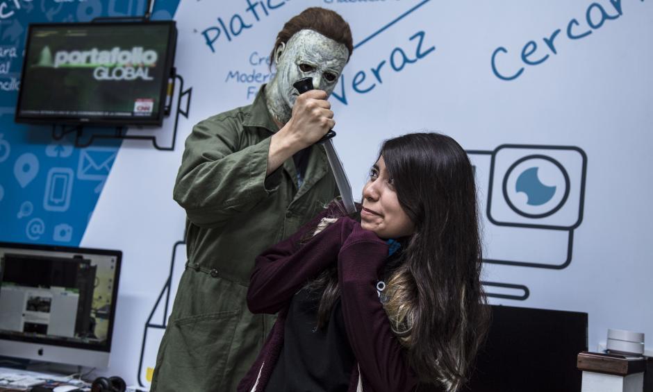 ¡Qué miedo! (Foto: Victor Xiloj/Soy502)