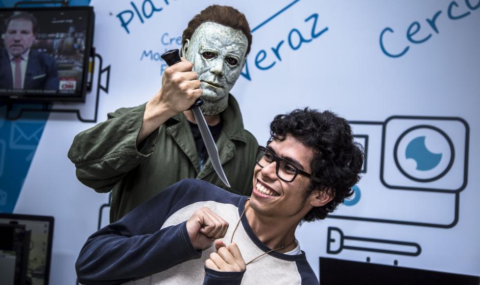 Halloween está de regreso y la redacción lo supo. (Foto: Victor Xiloj/Soy502)
