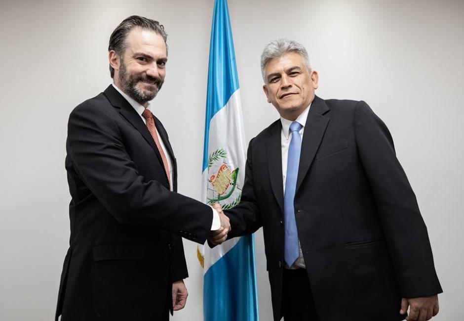 José Ramón Lam asesoró a Jimmy Morales en 2015. (Foto: Ministerio de Economía)