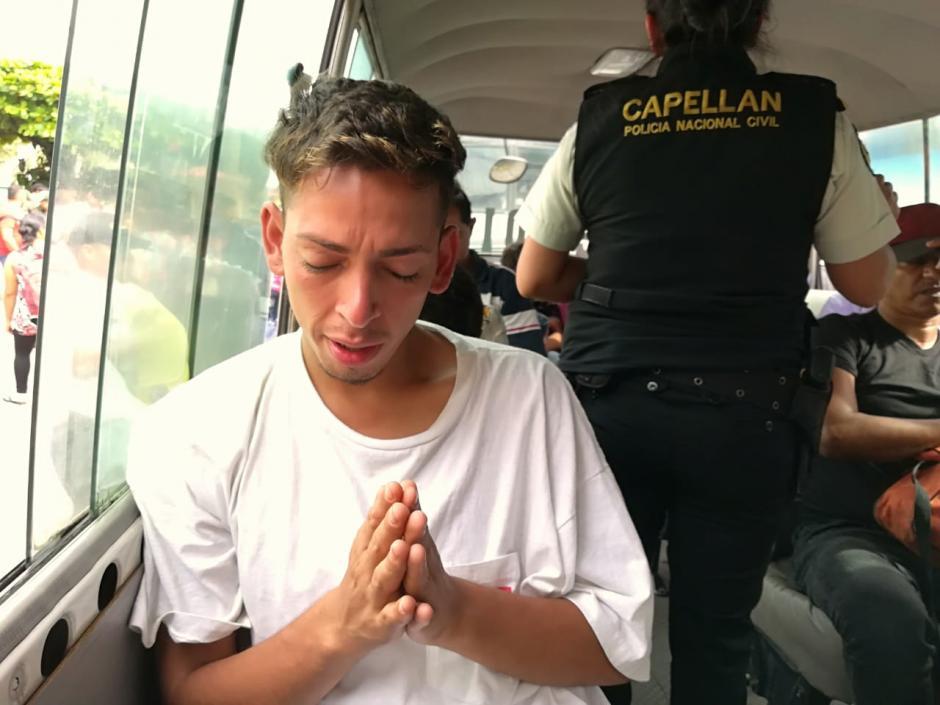 Varios hondureños han optado por regresar a su país. (Foto: PNC)