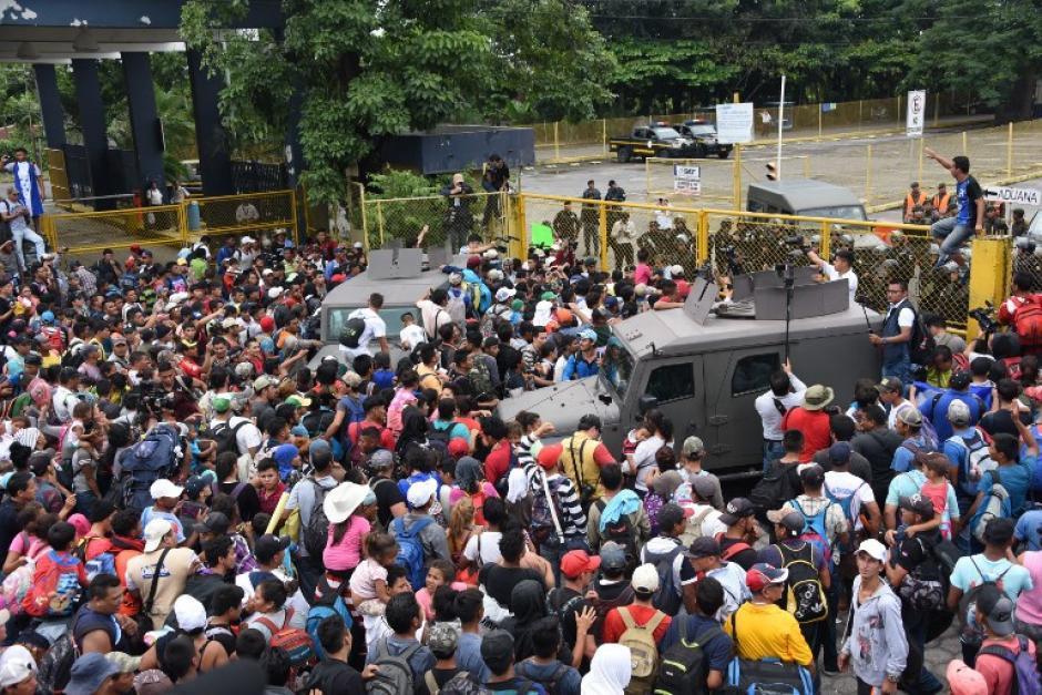 La Caravana del Migrante salió de Honduras la semana pasada con rumbo hacia EE.UU. (Foto: Archivo/Soy502)