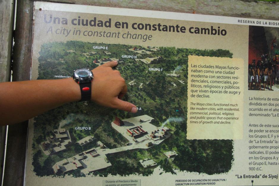El grupo E es donde se encuentra el observatorio, pero el resto está cerca. (Foto: Fredy Hernández/Soy502)
