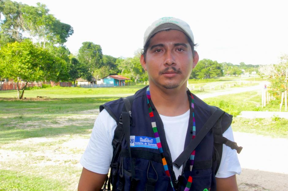 Juan Ariel Pop es uno de los guías más experimentados de la zona. (Foto: Fredy Hernández/Soy502)